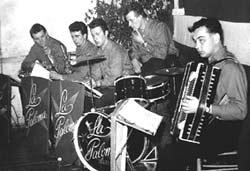 Die vom jungen Musiker Hans Erlebach gegründete Tanzkapelle